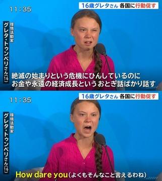 グレタさん 怖い 障害 親 かわいい 中国