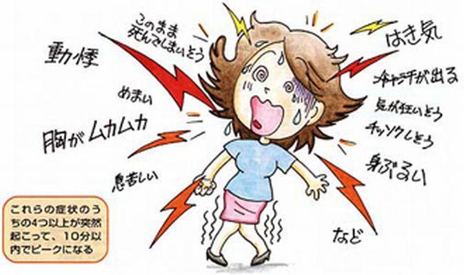パニック障害 イラスト 症状 病気