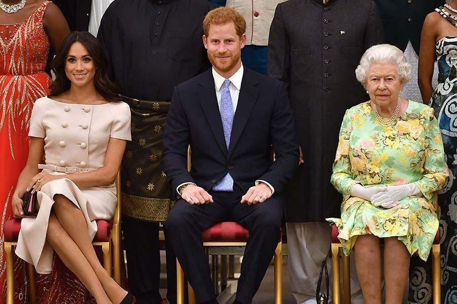 メーガン妃 ヘンリー王子 エリザベス女王
