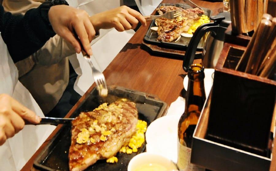 いきなりステーキ 立ち食い