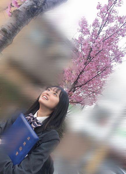 遠藤さくら かわいい 高校 卒業写真