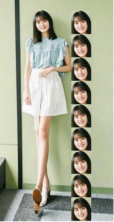遠藤さくら 身長 のびた 伸びた 160cm 162cm 159cm 乃木坂 齋藤飛鳥 スタイル 小顔 頭身 モデル センター 4期生 雑誌