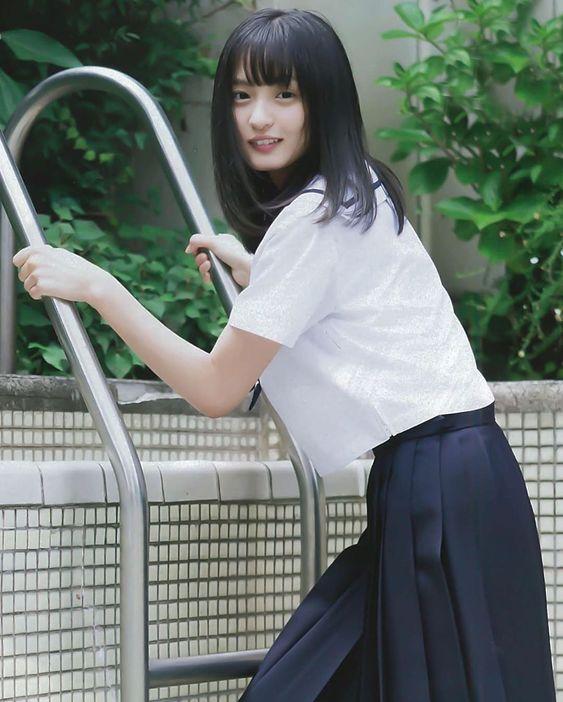 遠藤さくら 可愛い 画像 制服