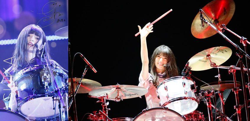齋藤飛鳥 ドラム 才能 いつから ブログ 上手い 動画 ドラムセット ドラムスティック ライブ 氣志團 乃木團 天才 趣味 特技
