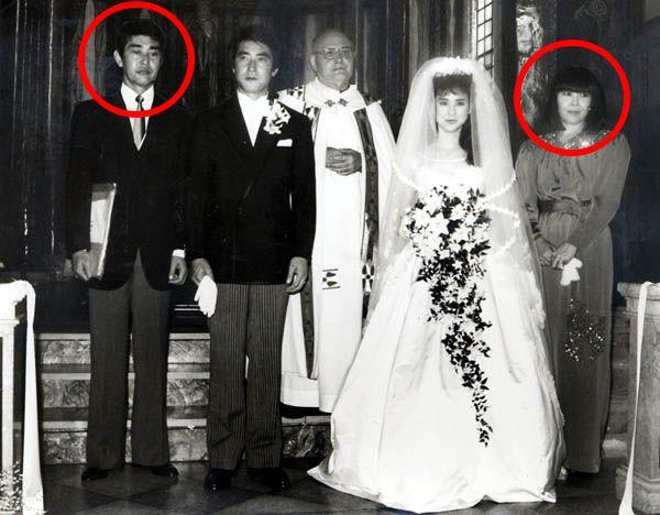 渡哲也 嫁 石川俊子 松田聖子・歌手&神田正輝・俳優、結婚式(仲人 渡哲也夫妻)