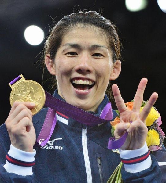 吉田沙保里 現役時代 女子レスリング 金メダル